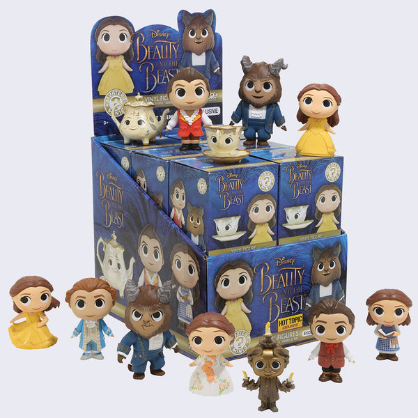 Funko - Disney Beauty & The Beast Mystery Mini Vinyl Figure
