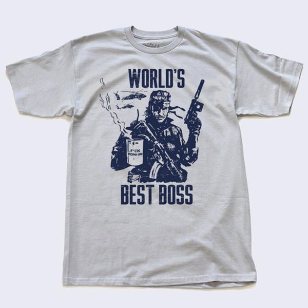Tee No Evil - Best Boss T-shirt (Grey)