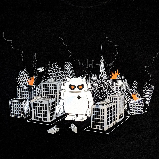 Giant Robot - Robot City T-shirt (Black)