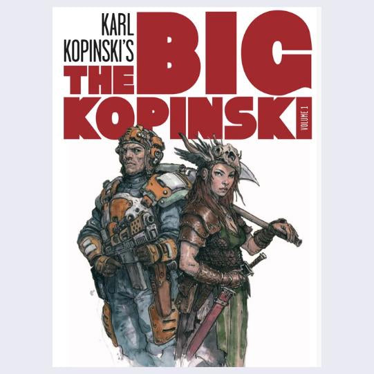 The Big Kopinski by Karl Kopinski - Order now and get it SIGNED!