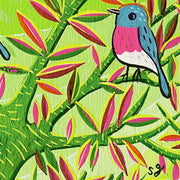 "Bird Show - Susie Ghahremani - ""Rose Robin Tree"""