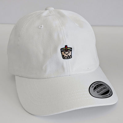 Giant Robot - Boba Dad Hat (White)