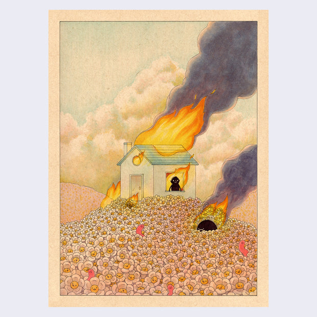 "Felicia Chiao - Daydreams - ""Burning"""