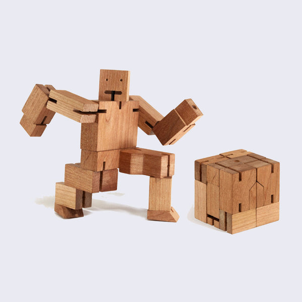 Areaware - Cherry Cubebot (Medium)