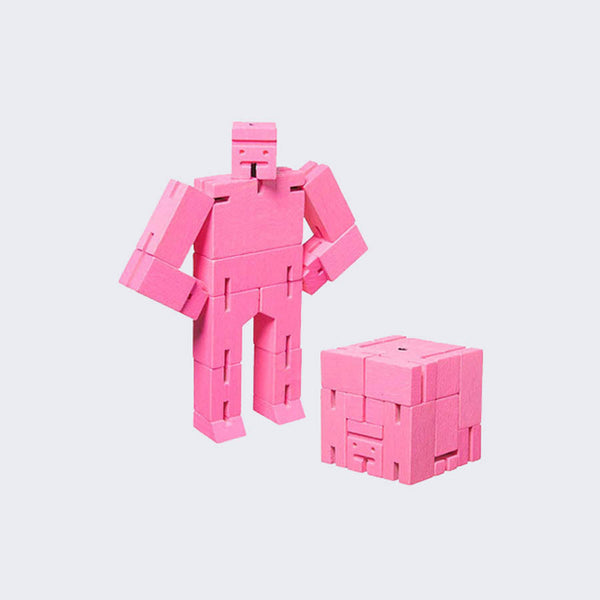 Areaware - Color Cubebot (Pink)