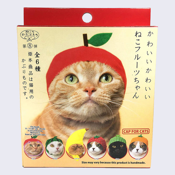 Cat Cap Blind Box Fruit Edition