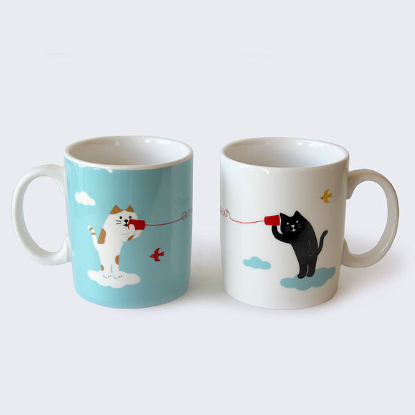 Lovely Day Cat Mug Set