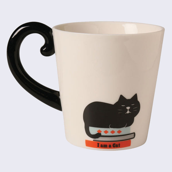 Cat Tail Mug (Black)