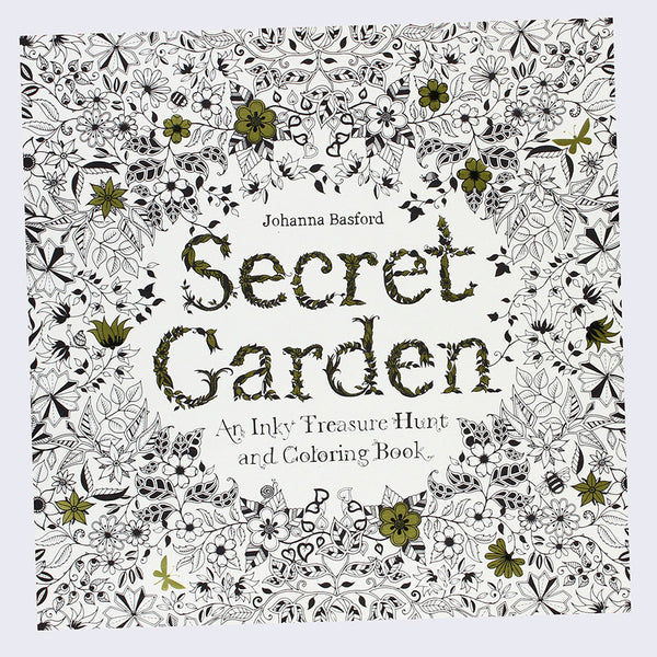 Johanna Basford - Secret Garden: An Inky Treasure Hunt and Coloring Book