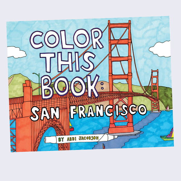 Abbi Jacobson - Color This Book San Francisco