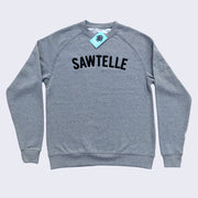 Giant Robot - Sawtelle Pull Over Crew Neck Sweatshirt (Grey)