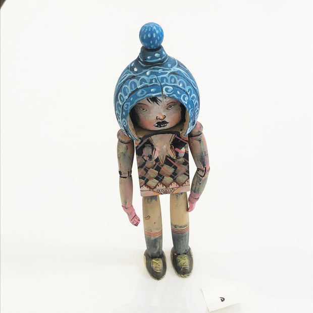 "Giant Robot Offerings #5 - David Choe - Choegal - Figure ""D"" Signed"