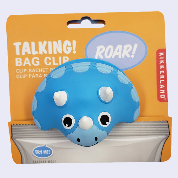 Talking Bag Clip (Dino)