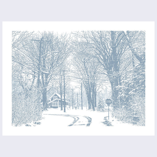 Dan McCarthy - Cold Hands and Warm Hearts Print