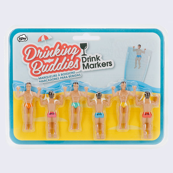 Drinking Buddies Glass Markers