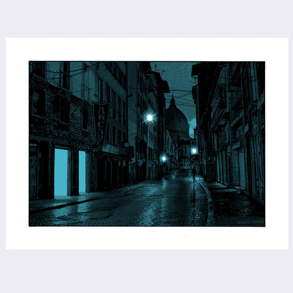 Dan McCarthy - Ghosts with Searching Eyes Print