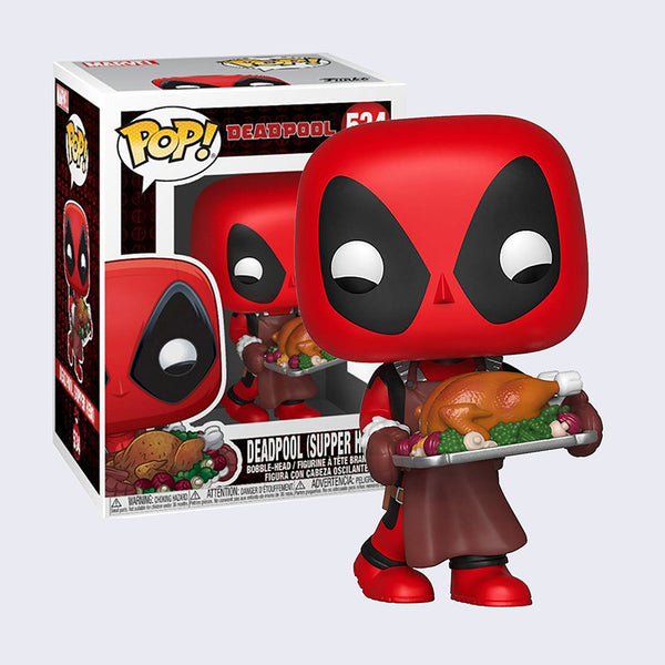 Funko - Deadpool Holiday Thanksgiving Vinyl Pop! Figure