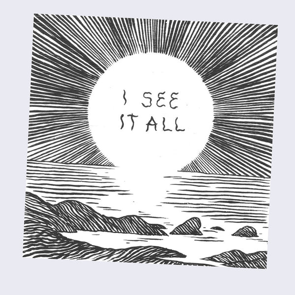 Deth P. Sun - I see All Sticker