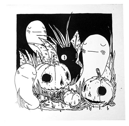 Deth P. Sun - Pumpkin Patch Sticker