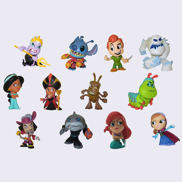 Funko x Disney - Heroes vs. Villains Mystery Mini Figure