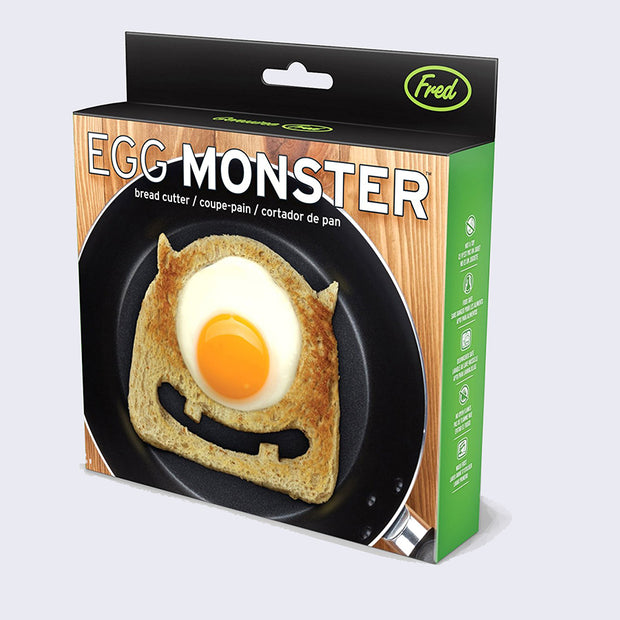 Egg Monster Bread Cutter