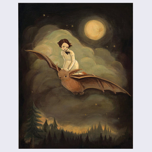 Emily Winfield Martin - Flying By Night Print