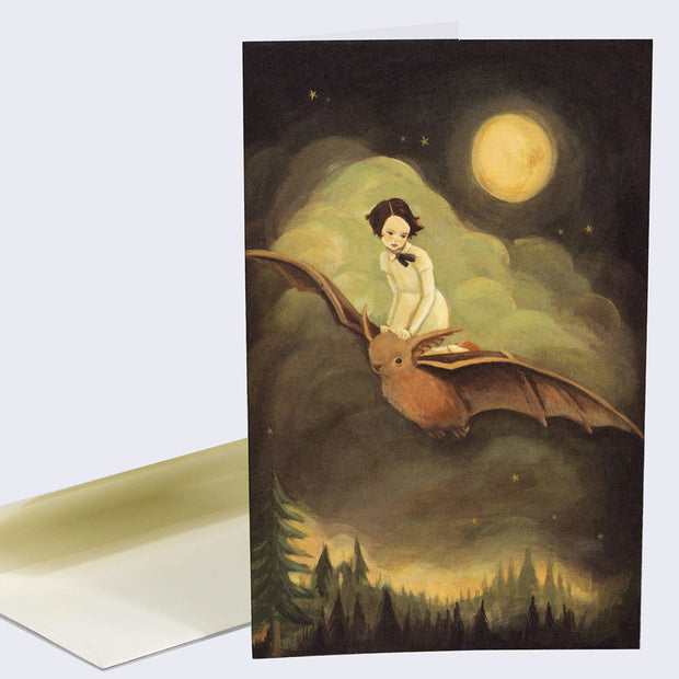 Emily Winfield Martin - Flying By Night Card