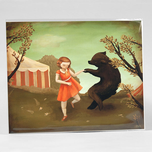 Emily Winfield Martin - Bear Dance Print