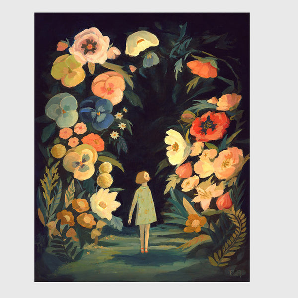 Emily Winfield Martin - Night Garden Print