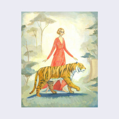 Emily Winfield Martin - The Tiger's Bride Print