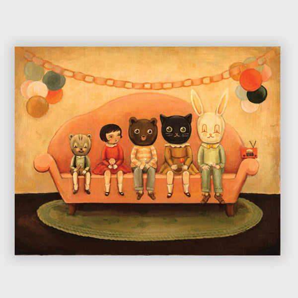 Emily Winfield Martin - Costume Party Print