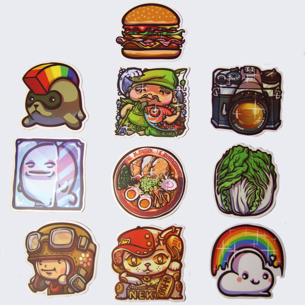 Enfu - Sticker (Assorted)