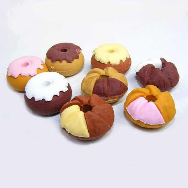 Mini Doughnut Eraser (Set of 2)