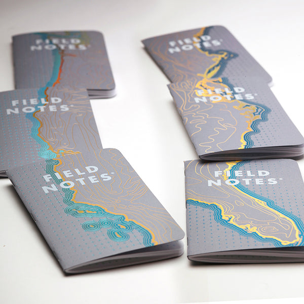 Field Notes - Set of Three Memo Book (Coastal West)