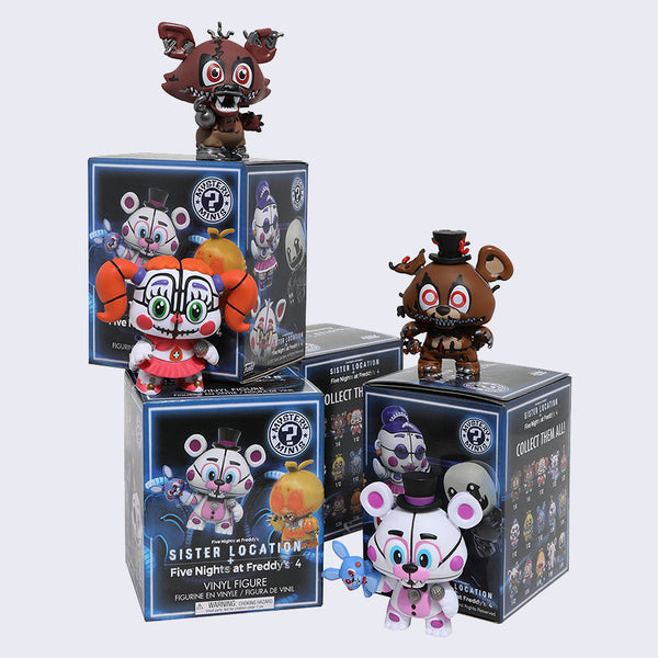 Friday Nights at Freddy's SISTER LOCATION - Mystery Mini Figure