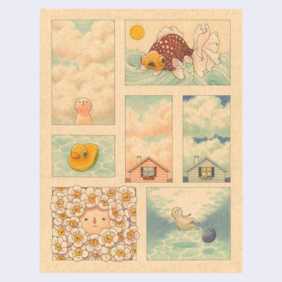 Felicia Chiao - Daydreams - Print #02