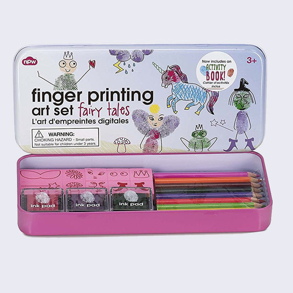Finger Printing Art Set (Fairy Tale)