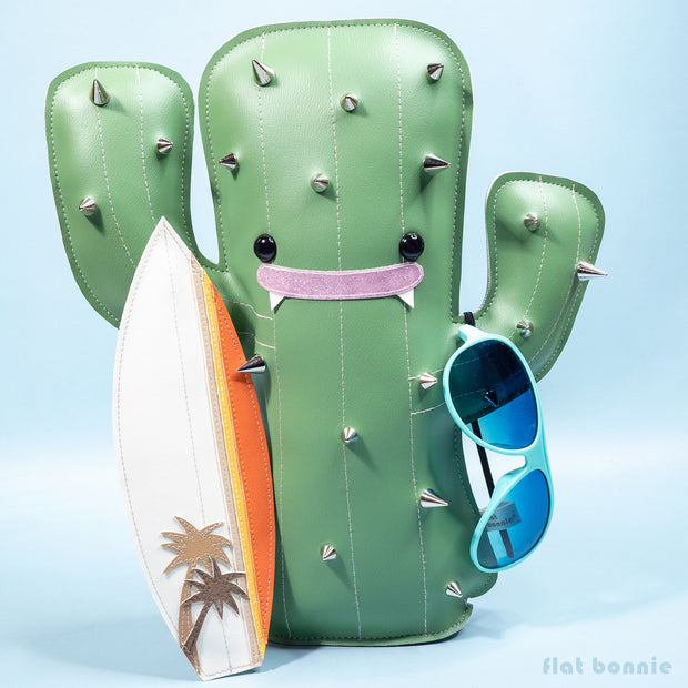 "Land and Sea Show - Flat Bonnie - ""Stay Hydrated Cactus"""