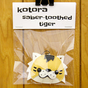 Flat Bonnie - Kotora the Saber-Toothed Tiger