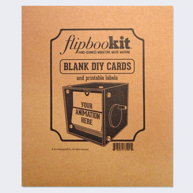 FlipBooKit - Blank DIY Cards and Printable Labels