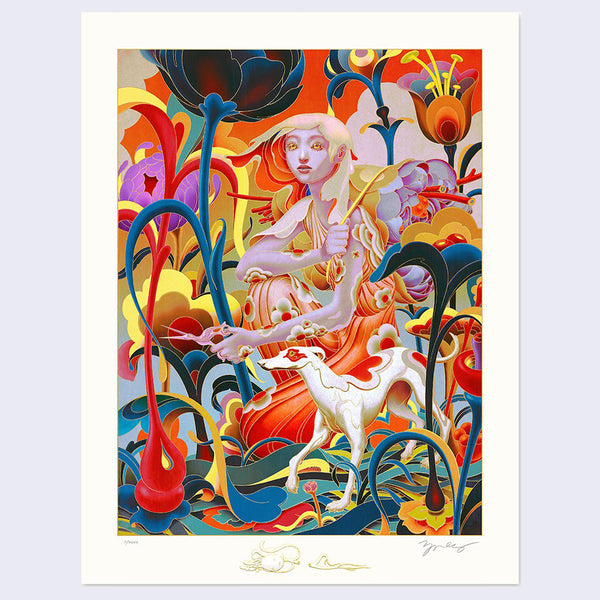 James Jean - Forager Print