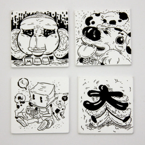 Stacy Tan - Mini Drawings (Set 2)