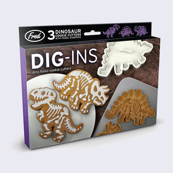 Dig-ins Dinosaur Cookie Cutters