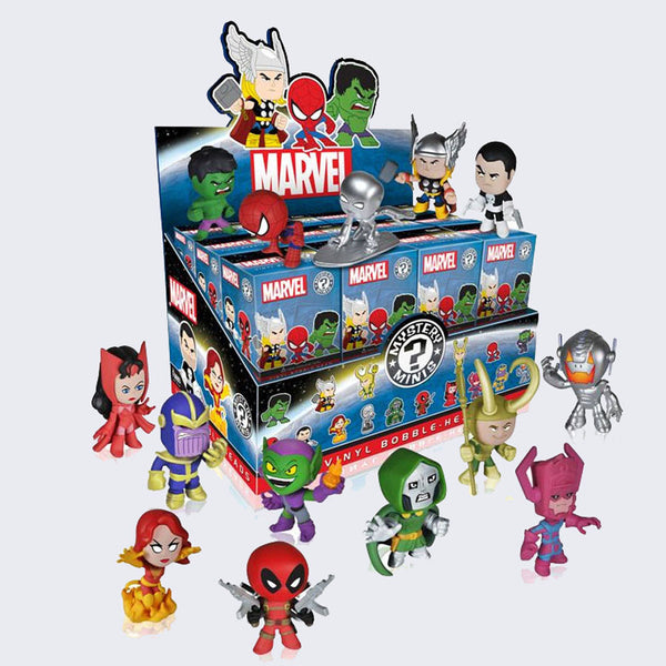 Funko x Marvel - Mystery Mini Vinyl Bobble-head Figure
