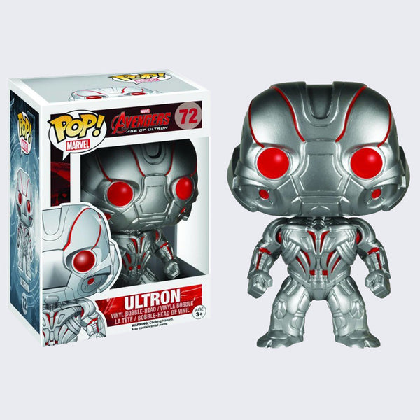 Funko x Marvel - Pop! Avengers: Age of Ultron Vinyl Bobble Head Figure (Ultron)