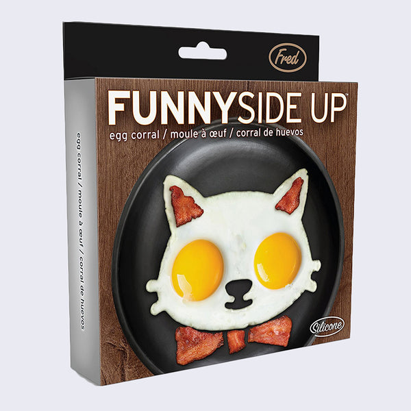 Fred - Funny Side Up Cat Mold