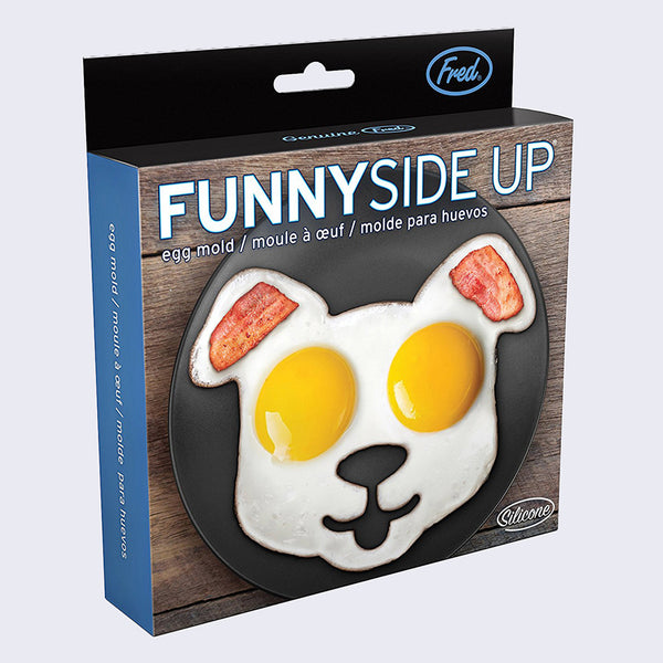 Fred - Funny Side Up Dog Mold