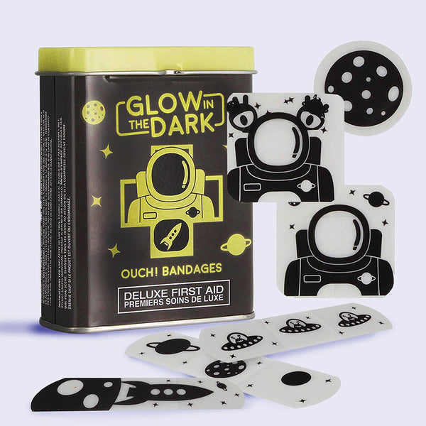 OUCH! - Glow in the Dark Space Bandages