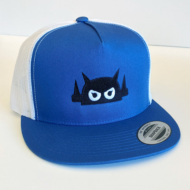 Giant Robot - Big Boss Robot Hat (Blue/White Mesh)