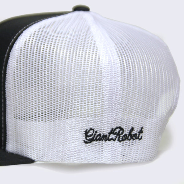 Giant Robot - Big Boss Robot Mesh Hat (White/Black)